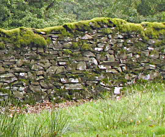 dry stone wall in Cumbria