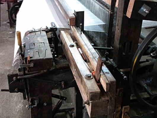 silk weaving loom Dalat Vietnam