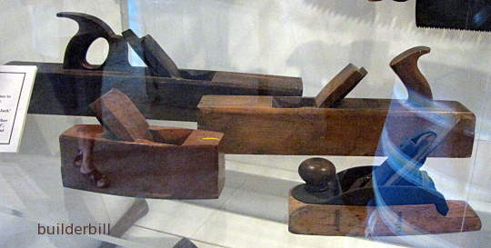 old wooden hand planes