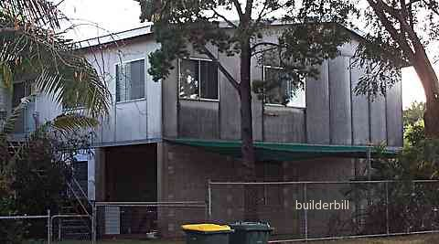 Asbestos fibro house in Darwin built 1965