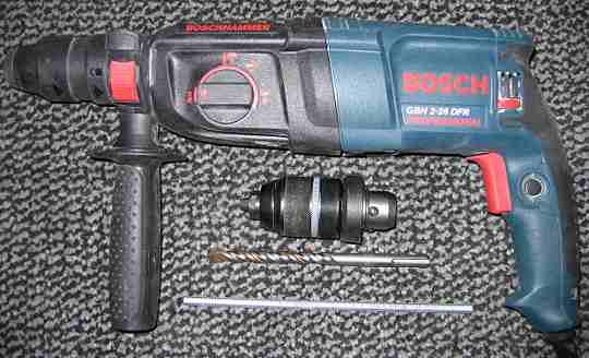 A smaller Bosch hammer drill