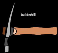 a bricklayers hammer