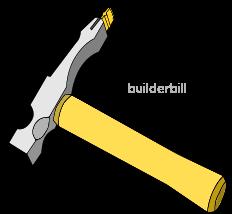 a bricklayers scutching hammer