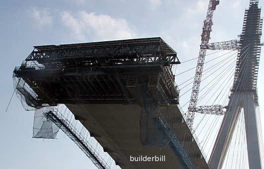 bridge construction Mekong Delta