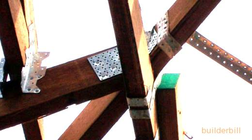 coil nailer nail plates and straps