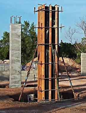 concrete formwork for columns