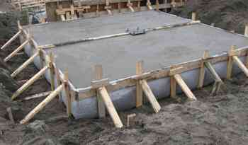 copleted pad footing