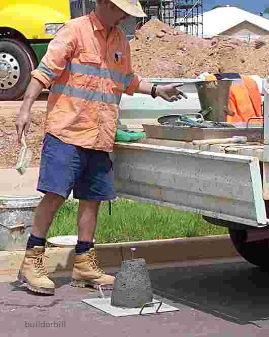 concrete tester and his equipment