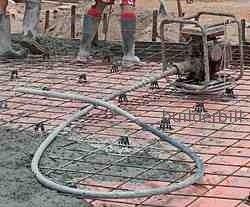petrol driven flex shaft concrete vibrator