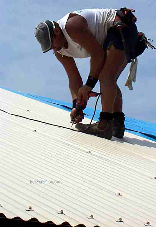 modern corrugated roofing