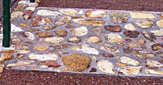 cyclopean concrete in water runoff