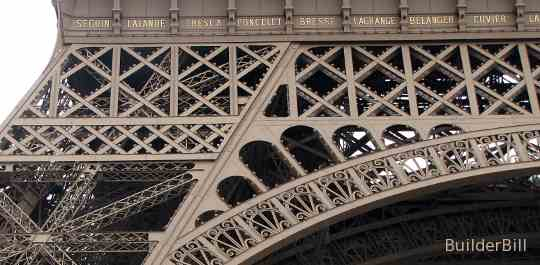 Details of the Eiffel Tower