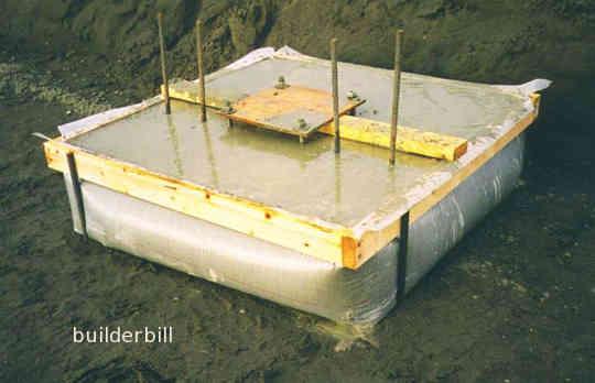 a pad foundation