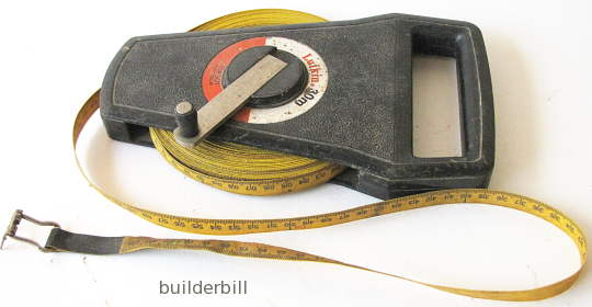 a 30m wind up tape measure