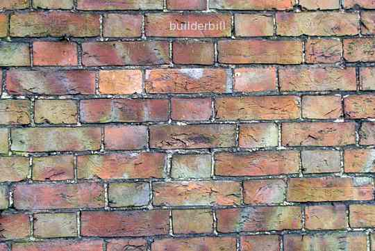 a very old wall in flemish bond