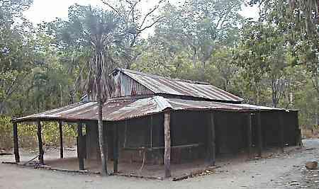 Bush shed