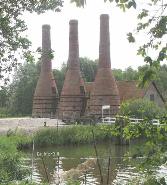 lime kilns at zuider zee museum