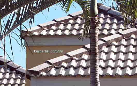 Monier roofing tiles