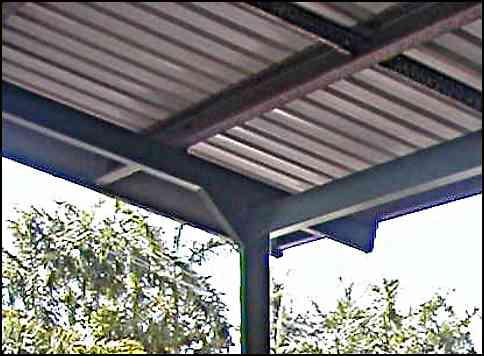 carport roof detail
