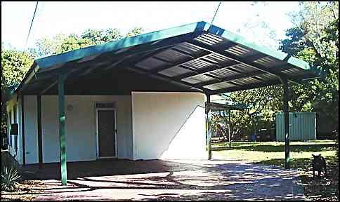 portal frame carport