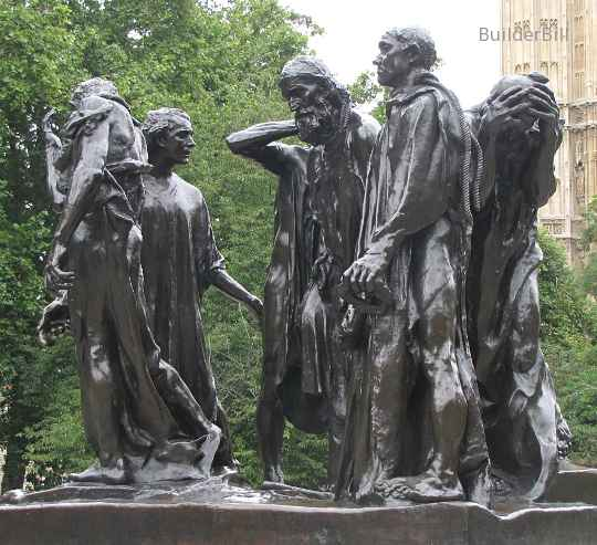 augustin rodin, burghers of calais