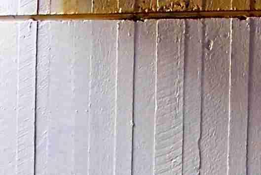 rough surface formwork finish