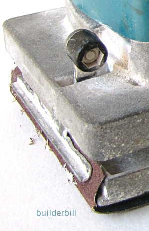 detail of clamping method