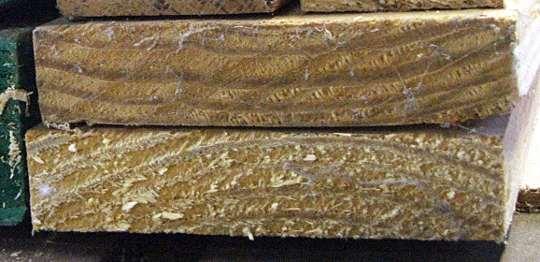 softwood planks