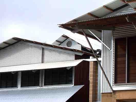 steel roofs
