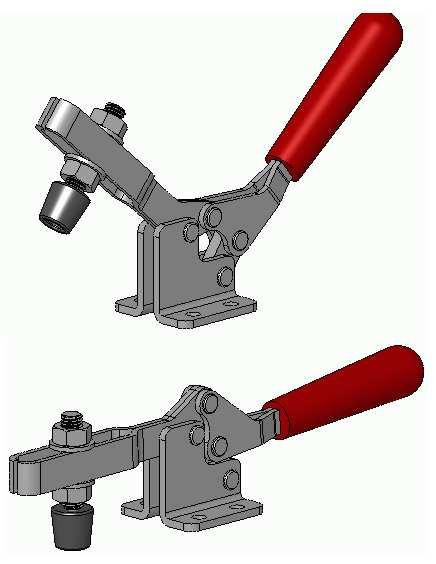 a toggle clamp