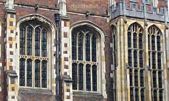 tudor arches at hampton court