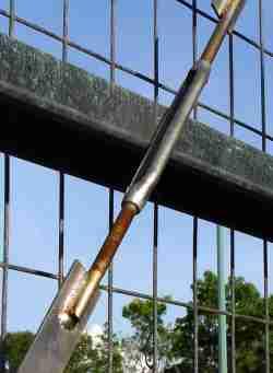 mild steel flat brace with turnbuckle