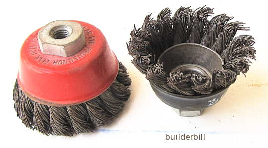two wire cup brushes